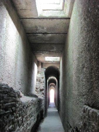 Kaiserthermen: labyrinth