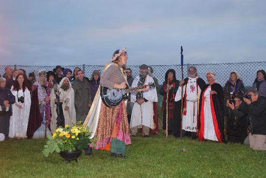 Stonehenge: Solstice Celebrations, 21 June 2011.