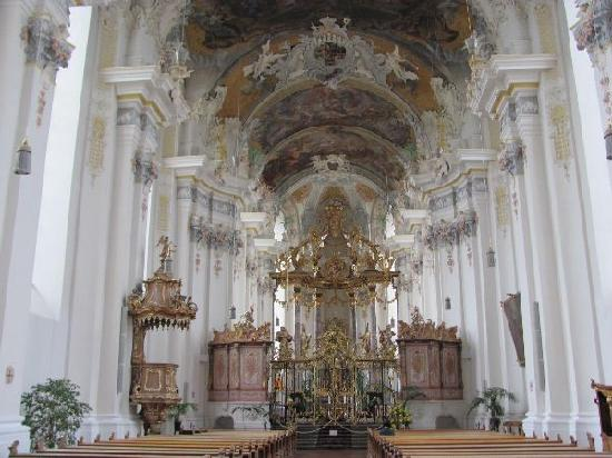 Baroque interior picture of st paulin kirche trier for Interieur baroque