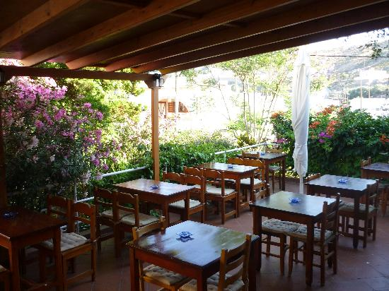 Skala, Hellas: Breakfast area