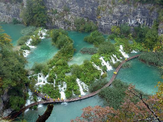 Plitvice Lakes National Park, Kroatië: Impresionante