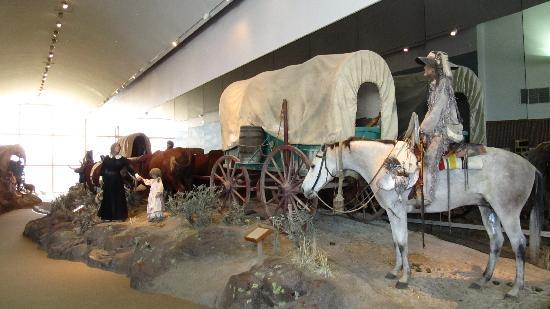 National Historic Oregon Trail Interpretive Center: An exhibit