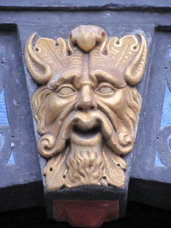 Kurfürstliches Palais: detail portal