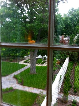 A Storybook Inn : View from Room!