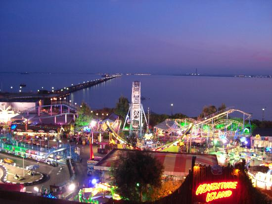 adventure island by night