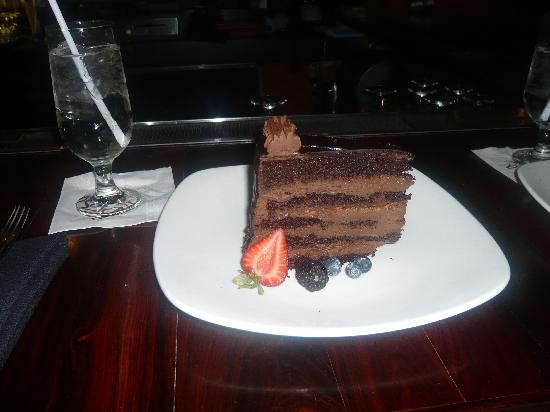 Brasa Brazilian Steakhouse: Chocolate Truffle Cake
