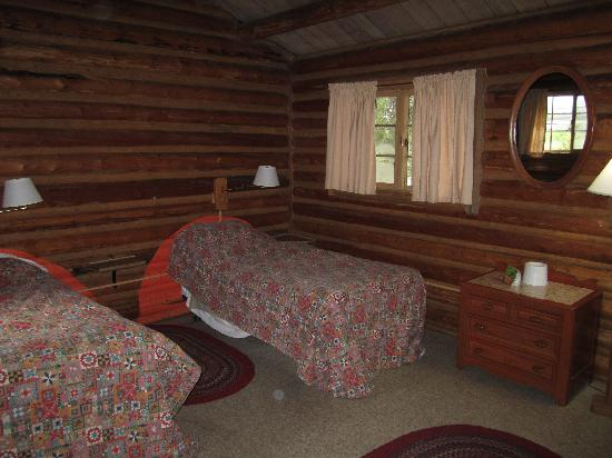 Colter Bay RV: The bedroom