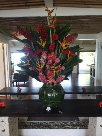 Taveuni Palms Resort: Beautiful tropical flowers