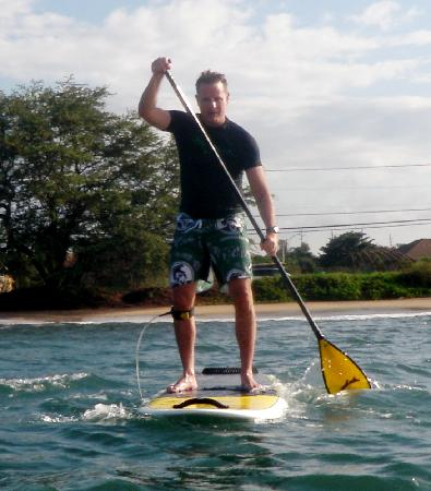 Paia, HI: Successful SUP Lesson