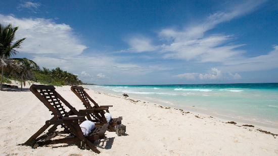 Casa de las Olas: Beach!