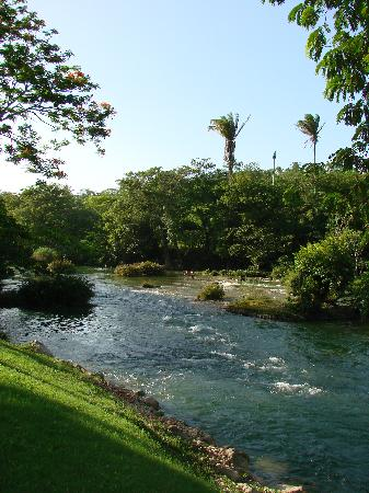 Mahogany Hall Boutique Resort: View of the river from Mahogany Hall.