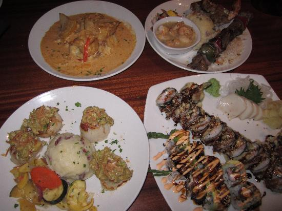 Island Way Grill : Various Entrees