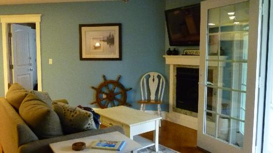 Sheepscot Harbour Village Resort & Spa: Living Room