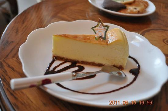 Florence Resort Villa (Italianate Cingjing Nantou): Cheese cake.