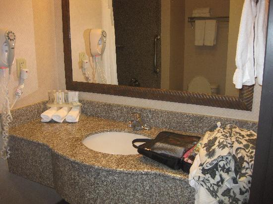 Holiday Inn Express Yreka-Shasta Area : Granite composite sink