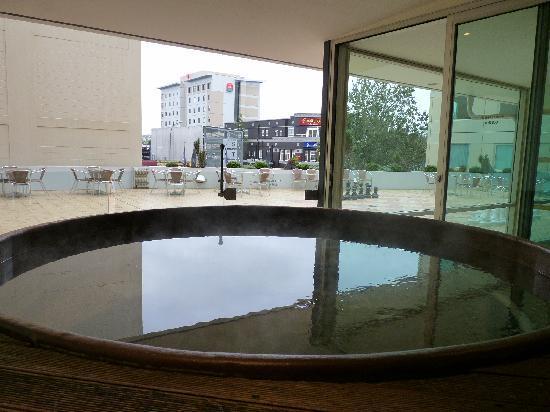 Novotel Hamilton Tainui: Spa pool