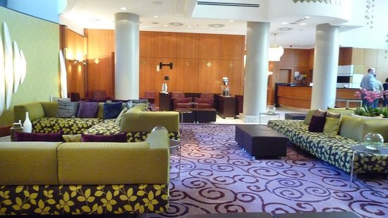 Renaissance Brussels Hotel Lobby