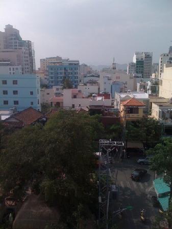 โรงแรม ฮา เวิน: view from the roof terrace