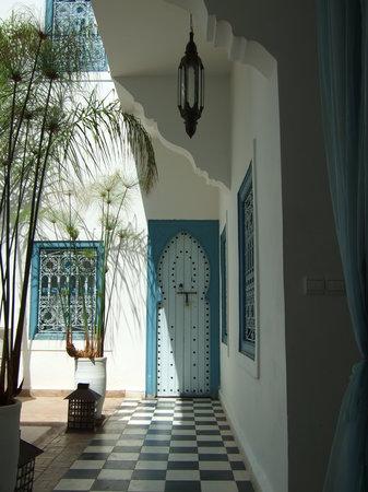 Riad Chamali : near the pool