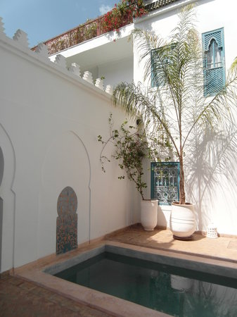 Riad Chamali : pool/bassin