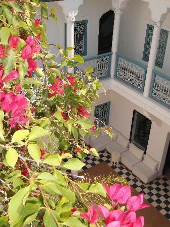 Riad Chamali: view from the terrace