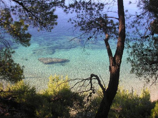Brac Island, Croatia: eine Bucht auf Brac