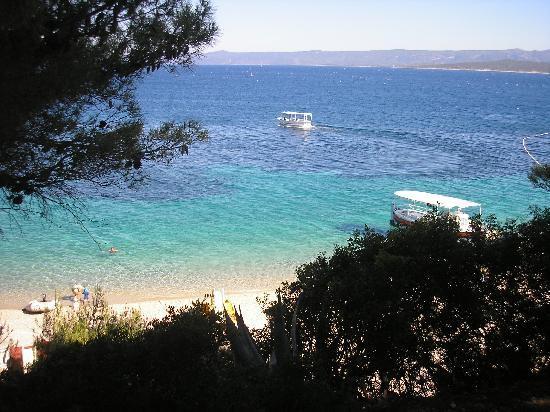 Isla de Brac, Croacia: Eine Bucht