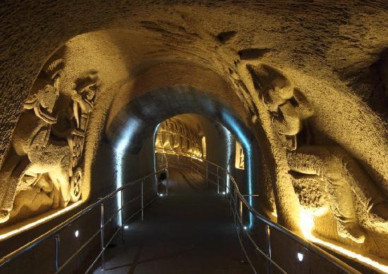 Cappadocia Cave Resort & Spa: Tunnel