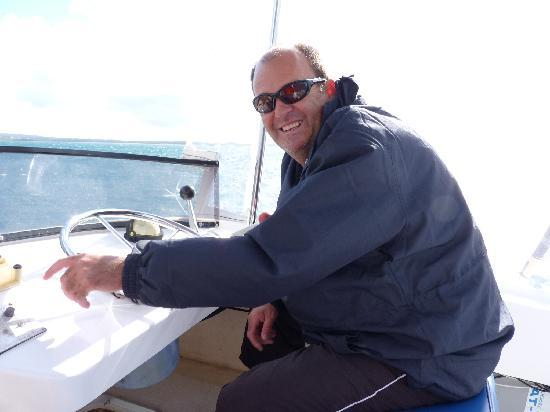 Dunsborough, Australia: our friendly and professional skipper