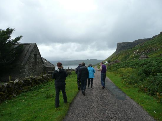 Tall Tales of Mull: Finlay is an excellent guide