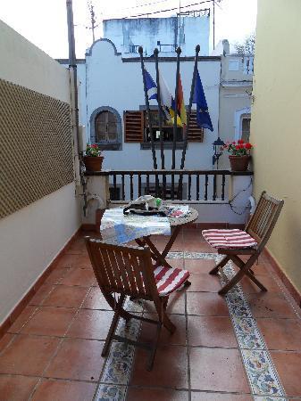 Hotel Rural Victoria: Balcony Orotava