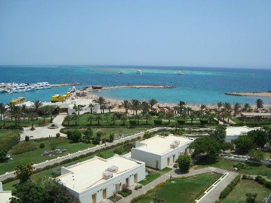 sea view from the room  Hilton Plaza 5* Єгипет,  Хургада - photo
