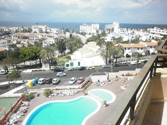 Hotel Olé Tropical: Вид с номера