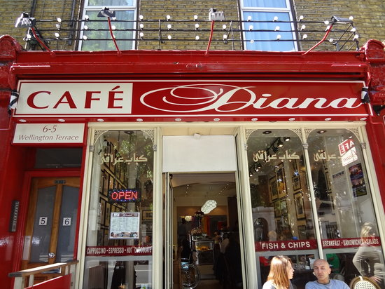 Cafe Diana London Notting Hill Restaurant Reviews