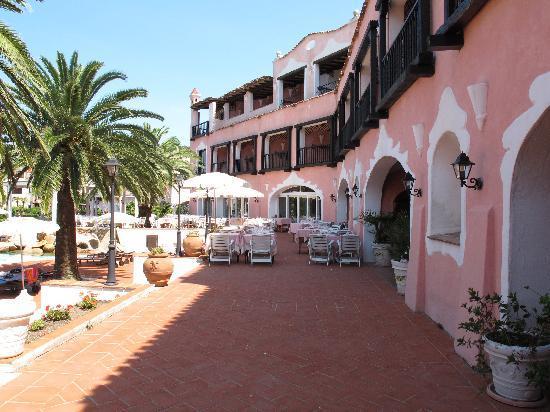 Hotel Le Palme : veduta esterna ristorante