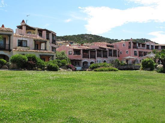 Hotel Le Palme : veduta dal parco