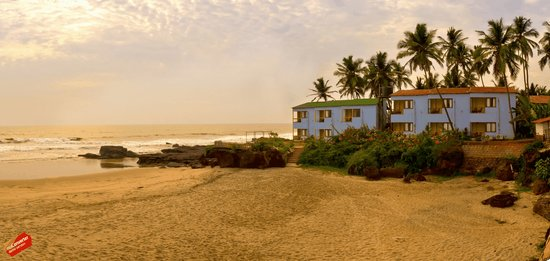 Pernem, Indien: Rococco home to dolphins & turtles