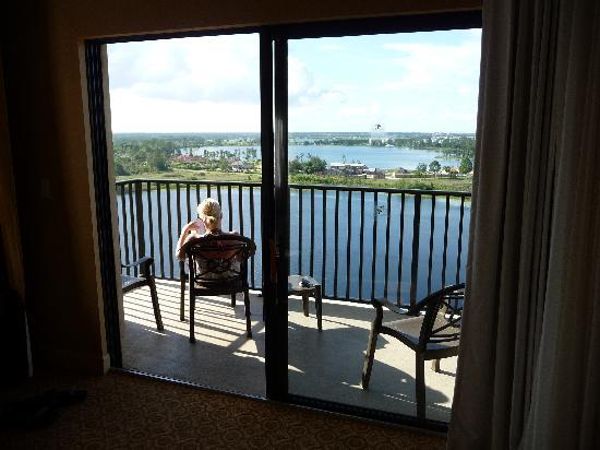 Lake Eve Resort: View from the living area
