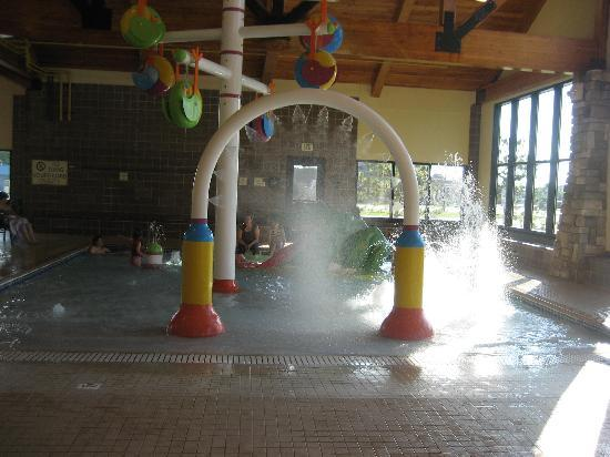 Hampton Inn & Suites Bemidji: Water features for kids