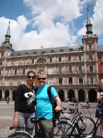 Trixi Madrid - Bike Tours: Plaza Maior