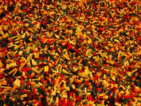 Lego bin - Picture of Legoland Discovery Centre, Manchester ...