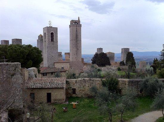 Hotel Leon Bianco: San Gimignano