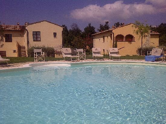 Borgo la Fornace: one of the 3 pools