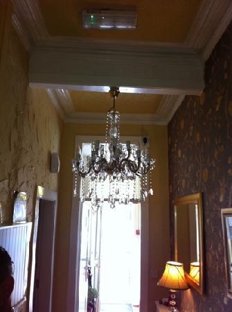 The Astor Hotel: chandelier!?!