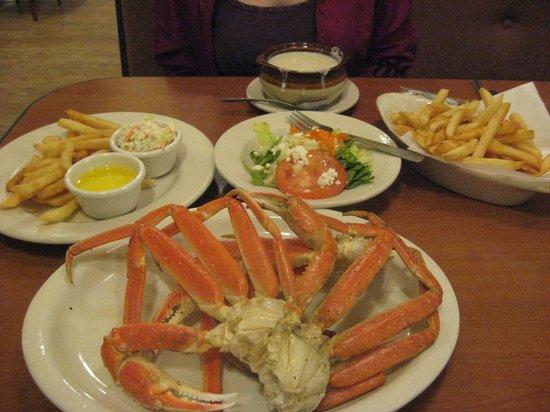 Boston Beef & Seafood: crab legs