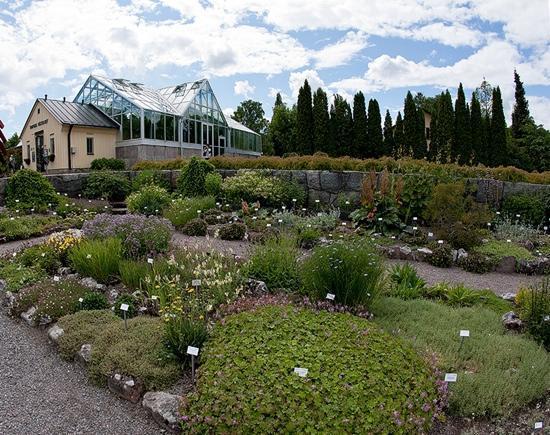 Uppsala, İsveç: Botanic garden Photo Timo Gustafsson