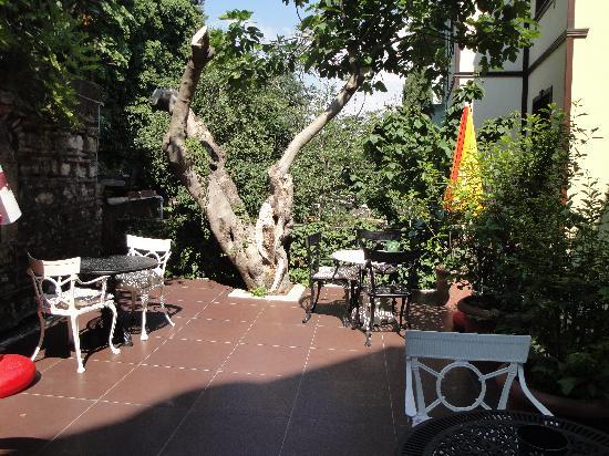Tashkonak Hotel : Tashkonak garden