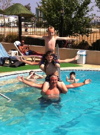 Sunset Village Apartments: fun in the pool with new friends