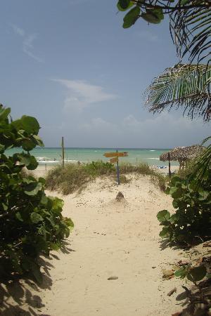 Melia Las Antillas: Weg zum Strand
