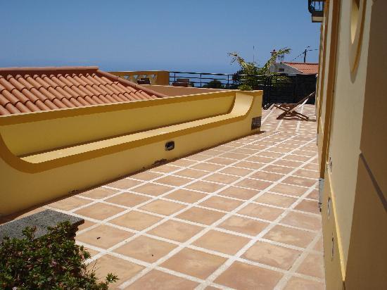 Faja da Ovelha, Portugal: Terrasse